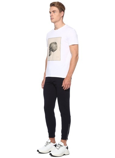 Alexander McQueen Tişört Beyaz